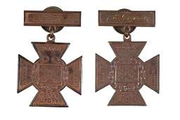 57: UCV Southern Crosses of Honor Identified to A.E. Jo