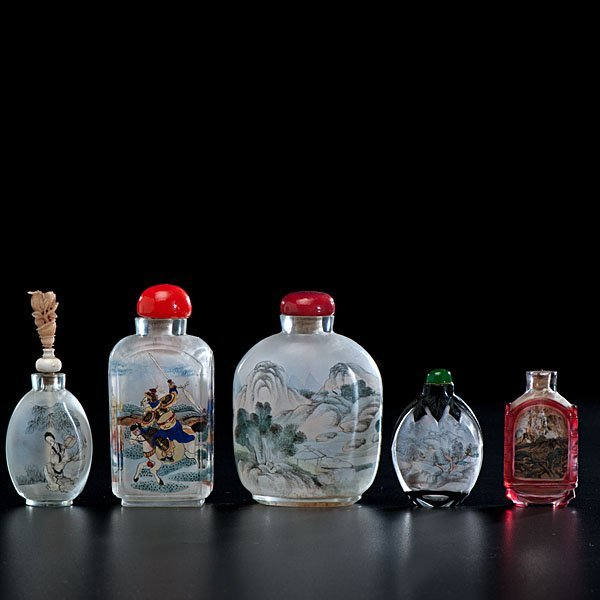 20: Chinese Interior Painted Snuff Bottles