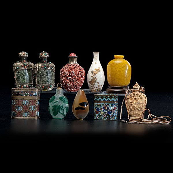21: Asian Snuff Bottles and Boxes