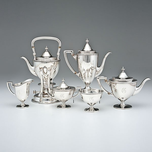Tiffany & Co. Sterling Coffee and Tea Service