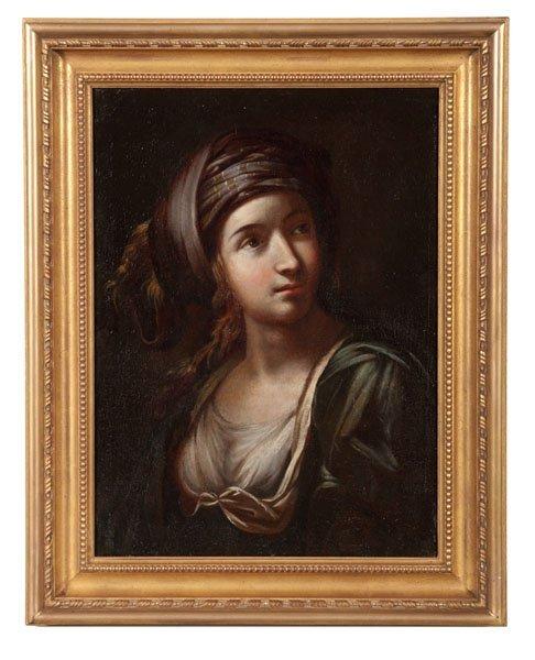 Old Master Portrait Attributed to Elisabetta Sirani