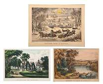 Currier  Ives Lithographs
