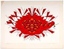 Cardinal Serigraphs by Charley Harper