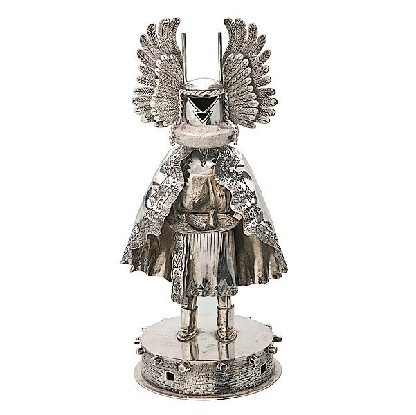 Hopi Silver Crow Mother Figure