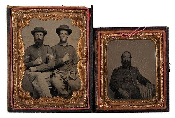 Sixth Kentucky Cavalry Grouping, Including Tintypes,
