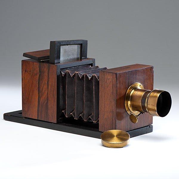 Lewis Half Plate Daguerreotype Camera Jamin/Darlot Lens