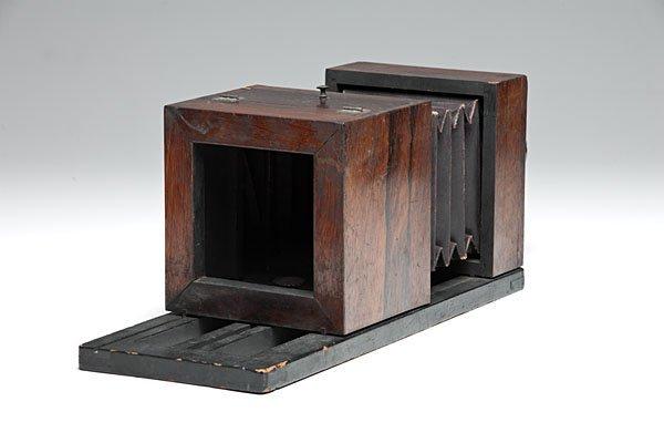 Lewis Half Plate Daguerreotype Camera Jamin/Darlot Lens - 3
