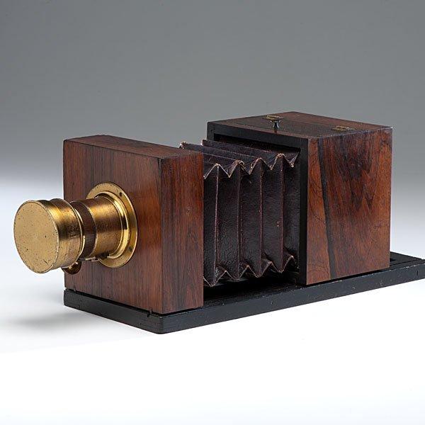 Lewis Half Plate Daguerreotype Camera Jamin/Darlot Lens - 5