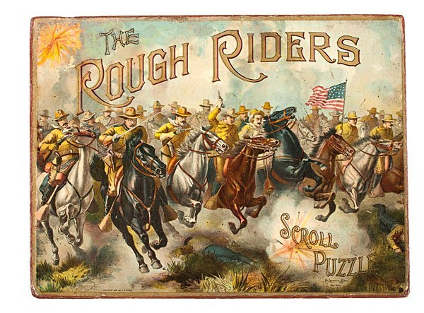 Theodore Roosevelt & the Rough Riders, Scroll Puzzle