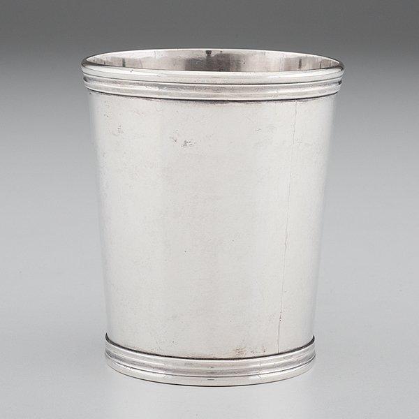 Kentucky Coin Silver Julep Cup by E. Garner