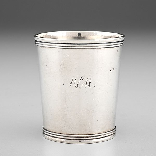 Kentucky Coin Silver Julep Cup by W. Poindexter