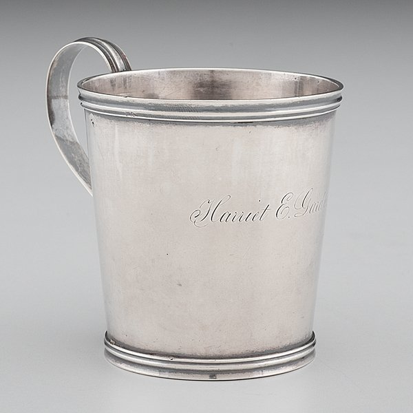 Kentucky Coin Silver Child's Cup by J. Lemon