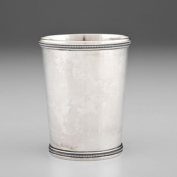 Kentucky Coin Silver Julep Cup by G. McDannold