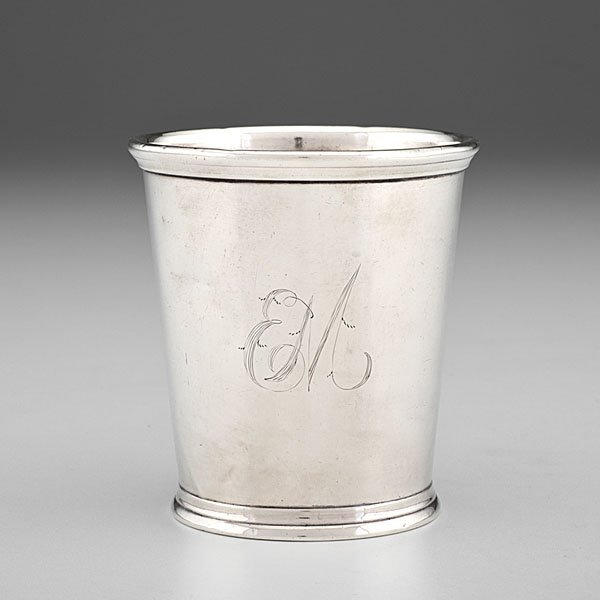 Kentucky Coin Silver Julep Cup Retailed by W. Kendrick