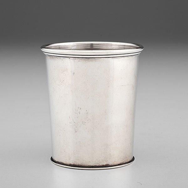 Louisville, KY Silver Julep Cup Retailed by Fletcher &