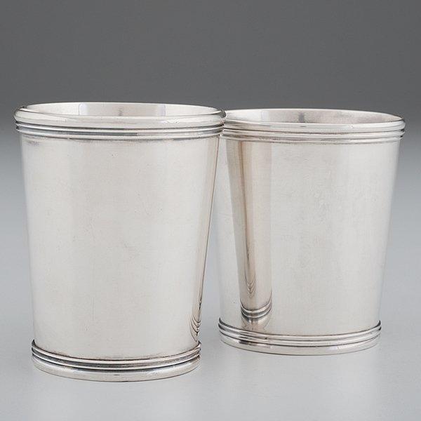 Cincinnati Coin Silver Beakers