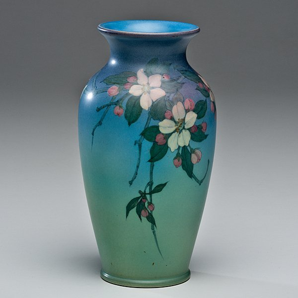 Rookwood Vellum Vase by Lenore Asbury