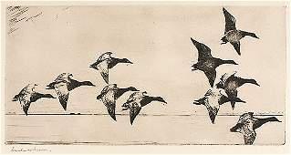 Canvasbacks by Frank Weston Benson