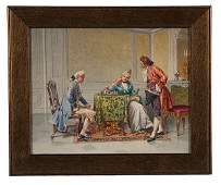 The Chess Players by G. Ferruccio Moro
