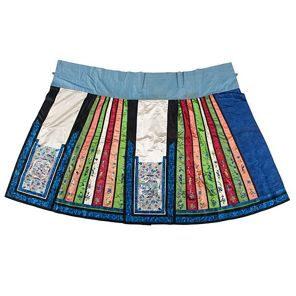 Chinese Embroidered Ceremonial Skirt