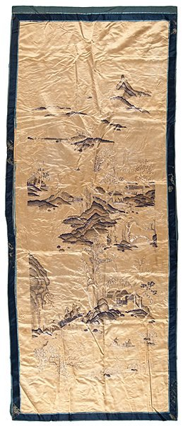 Fine Chinese Embroidered Altar Cover