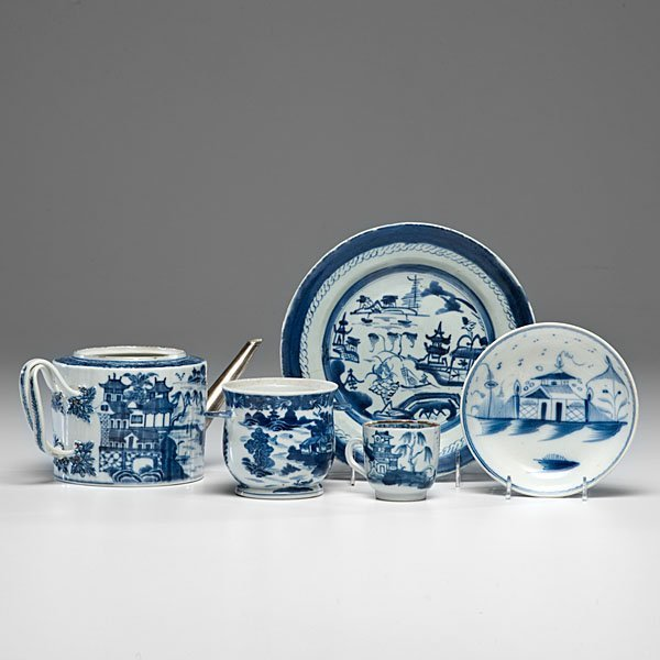 Chinese Export Blue and White Porcelain