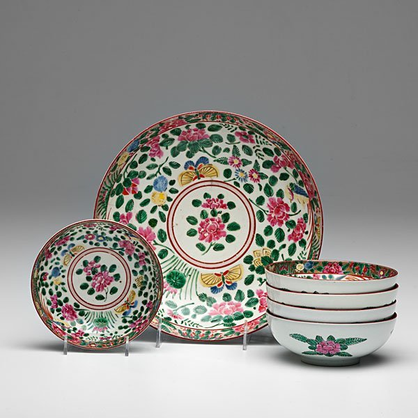 Chinese Export Famille Rose Bowls