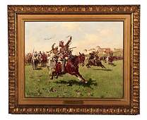 Cossack Sport by Josef Brandt