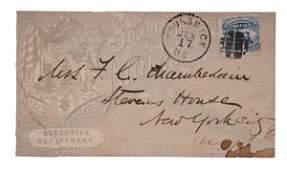 Gettysburg Hero, Joshua Chamberlain, Envelope Addressed