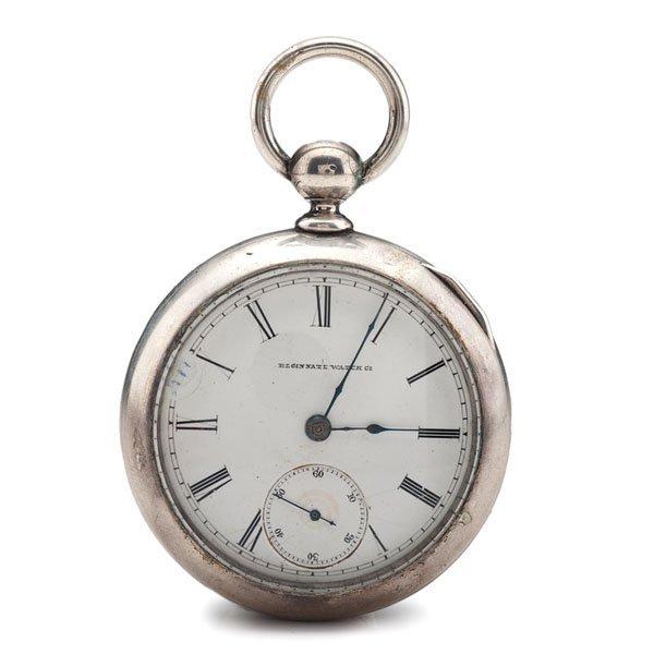 Elgin National Watch Co. Key-Wind Pocket Watch Ca 1884