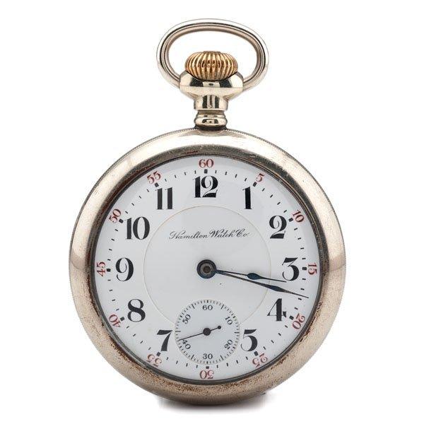 Hamilton 21-Jewel Railroad Pocket Watch Ca 1903