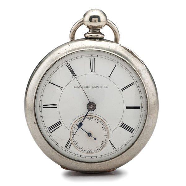 Hampden Watch Co. Key-Wind Open Faced Pocket Watch