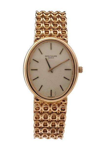 Patek Philippe 18 Karat Yellow Gold Wrist Watch