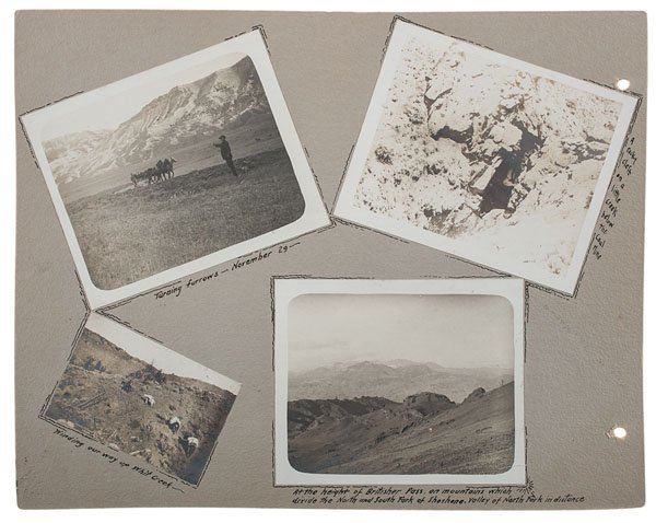 Two Albums of William F. Cody at Leisure, Compiled and