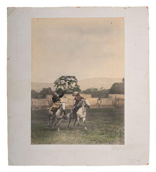 Fine Hand-Colored Photograph of Buffalo Bill Cody