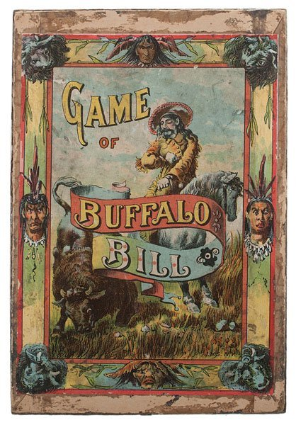 Game of Buffalo Bill, Vintage Card Game