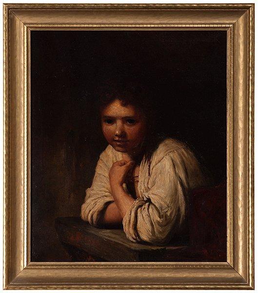 Portrait After Rembrandt van Rijn