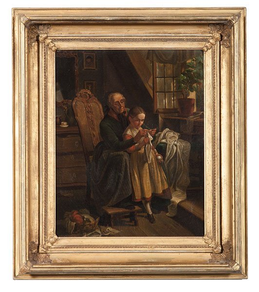 Dutch Interior Genre Scene