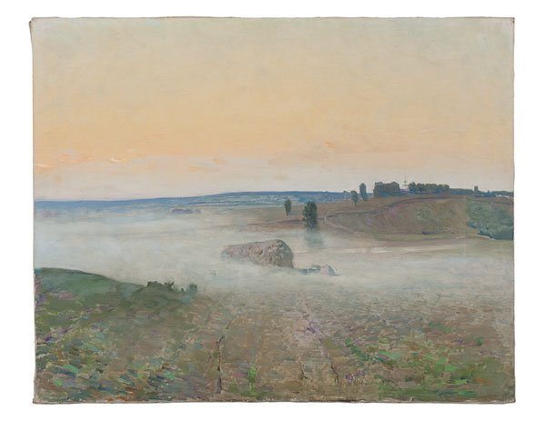 Russian Impressionist Landscape