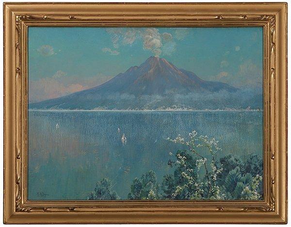 Mount Vesuvius by H.A. Dyer