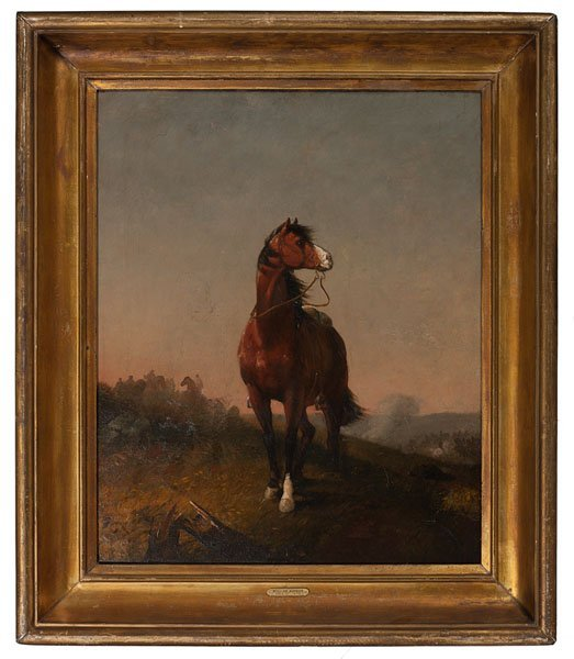 The War Horse by William Rimmer