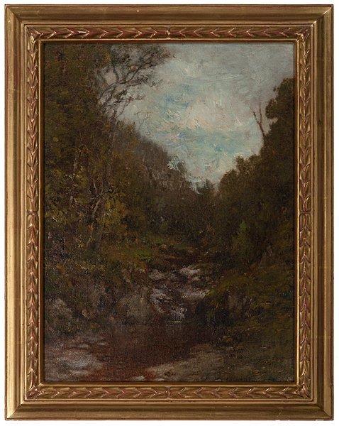 Woodland Brook by Alexander Wyant