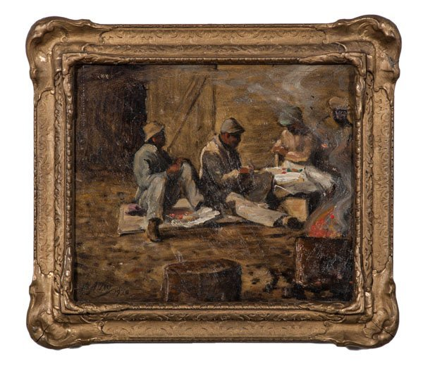 Hod Carriers at Lunch by Matthew Daly
