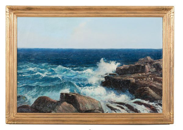 Seascape by Fred Pye