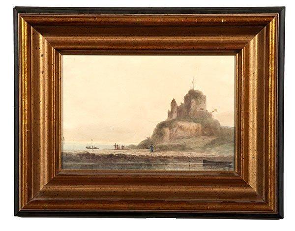Harbor Scene by Edward Henry Potthast II
