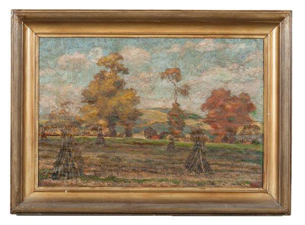 Indiana Haystacks Scene by Jay Connaway