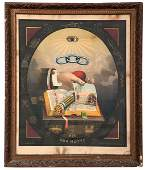 Independent Order of Odd Fellows Silk Print Motto