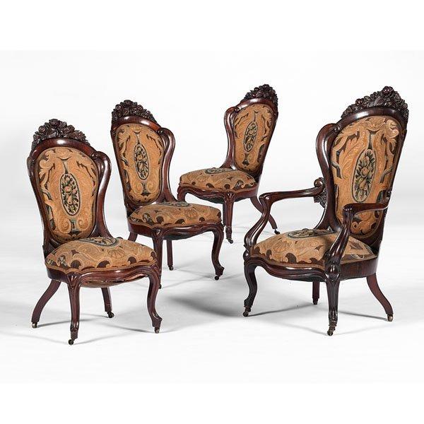 John Henry Belter Chairs