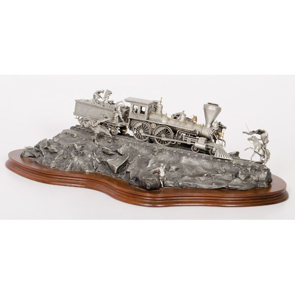 Chilmark Pewter Attack on the Iron Horse, by Michael - 2