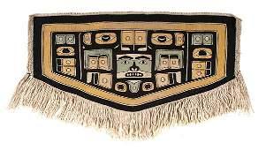 Tlingit Chilkat Child's Blanket